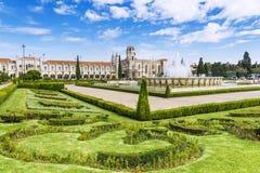 Μοναστήρι Jeronimos στη Λισσαβώνα, Πορτογαλία Στοκ Φωτογραφία