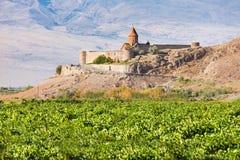 μοναστήρι khor της Αρμενίας virap Στοκ εικόνα με δικαίωμα ελεύθερης χρήσης