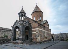 Μοναστήρι Khor Virap, εκκλησία της ευλογημένης Virgin Στοκ Φωτογραφία