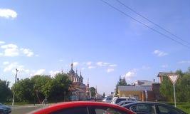 Μοναστήρι Kolomna Golutvin στοκ φωτογραφία με δικαίωμα ελεύθερης χρήσης