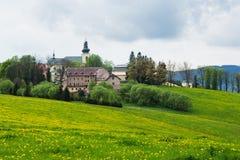 Μοναστήρι Kraliky στοκ φωτογραφία