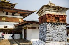 Μοναστήρι Lhakang Chimi, Punakha, Μπουτάν στοκ εικόνες