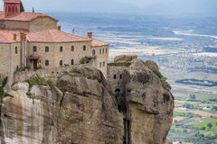 Μοναστήρι Meteora, Ελλάδα Στοκ Φωτογραφία