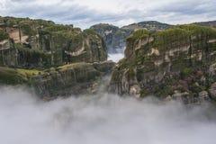 Μοναστήρι Meteora Στοκ φωτογραφίες με δικαίωμα ελεύθερης χρήσης