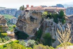 Μοναστήρι Meteora Στοκ Εικόνες