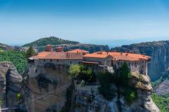 Μοναστήρι Meteora Στοκ Φωτογραφία