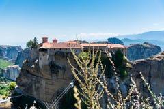 Μοναστήρι Meteora Στοκ εικόνες με δικαίωμα ελεύθερης χρήσης