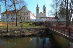 Μοναστήρι Milevsko σύνθετο Στοκ εικόνα με δικαίωμα ελεύθερης χρήσης