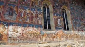 Μοναστήρι Moldovita σε Vatra Moldovitei, Ρουμανία στοκ φωτογραφίες