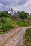 Μοναστήρι Muscel Slanic Στοκ φωτογραφία με δικαίωμα ελεύθερης χρήσης