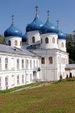 μοναστήρι novgorod Ρωσία ST George veliky Στοκ φωτογραφία με δικαίωμα ελεύθερης χρήσης