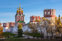 Μοναστήρι Novodevichy, Μόσχα, Ρωσία Στοκ Εικόνα