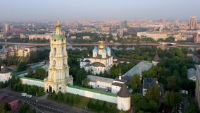 Μοναστήρι Novospassky, Μόσχα, Ρωσία απόθεμα βίντεο