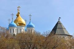 μοναστήρι novospassky Στοκ φωτογραφία με δικαίωμα ελεύθερης χρήσης