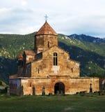 Μοναστήρι Odzun και παλαιό νεκροταφείο, χωριό Odzun της περιοχής της Lori της Αρμενίας στοκ εικόνα με δικαίωμα ελεύθερης χρήσης