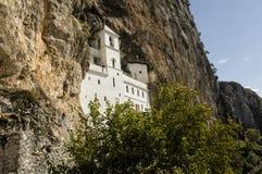 Μοναστήρι Ostrog, Μαυροβούνιο Στοκ εικόνα με δικαίωμα ελεύθερης χρήσης