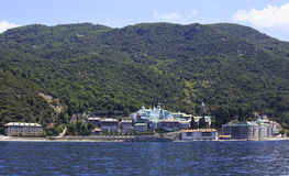 Μοναστήρι Panteleimonos Agiou Στοκ εικόνες με δικαίωμα ελεύθερης χρήσης