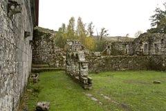 Μοναστήρι Pitoes Στοκ Εικόνες