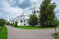 Μοναστήρι Pokrovsky, μονή της μεσολάβησης, Σούζνταλ Στοκ Εικόνα