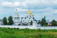Μοναστήρι Pokrovsky, μονή της μεσολάβησης, Σούζνταλ Στοκ εικόνα με δικαίωμα ελεύθερης χρήσης