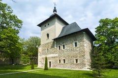 Μοναστήρι Probota, Μολδαβία, Ρουμανία Στοκ εικόνα με δικαίωμα ελεύθερης χρήσης