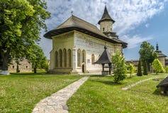 Μοναστήρι Probota, Μολδαβία, Ρουμανία Στοκ εικόνες με δικαίωμα ελεύθερης χρήσης