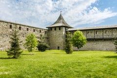 Μοναστήρι Probota, Μολδαβία, Ρουμανία Στοκ φωτογραφίες με δικαίωμα ελεύθερης χρήσης