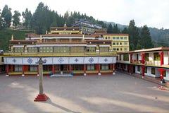 Μοναστήρι Rumtek, Sikkim, Ινδία στοκ φωτογραφία με δικαίωμα ελεύθερης χρήσης