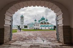 μοναστήρι s ατόμων αψίδων κάτω Στοκ Εικόνα