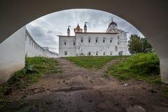 μοναστήρι s ατόμων αψίδων κάτω Στοκ εικόνες με δικαίωμα ελεύθερης χρήσης
