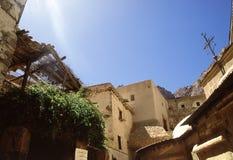 μοναστήρι s ST παρεκκλησιών της Catherine εγκαυμάτων στοκ εικόνες με δικαίωμα ελεύθερης χρήσης
