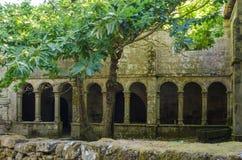 Μοναστήρι Santa Cristina de Ribas de Sil Γαλικία Στοκ εικόνες με δικαίωμα ελεύθερης χρήσης