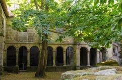 Μοναστήρι Santa Cristina de Ribas de Sil Γαλικία Στοκ εικόνα με δικαίωμα ελεύθερης χρήσης