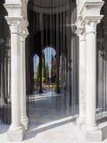 Μοναστήρι Santa MarÃa de las Cuevas Λα Cartuja, Σεβίλλη, Ισπανία Μαύρη κουρτίνα 2004 μαργαριταριών του Olaf Nicolai Στοκ εικόνα με δικαίωμα ελεύθερης χρήσης