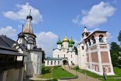 Μοναστήρι Savior του ST Euthymius στη Ρωσία στοκ εικόνες