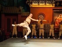 Μοναστήρι Shaolin Στοκ Εικόνες