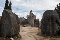Μοναστήρι Shavnabada Στοκ Εικόνες