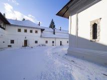 Μοναστήρι Sinaia Στοκ Εικόνες