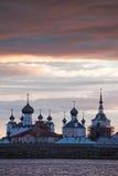 μοναστήρι solovetsky Στοκ Εικόνα