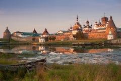 Μοναστήρι Solovetsky, Solovki στοκ εικόνες