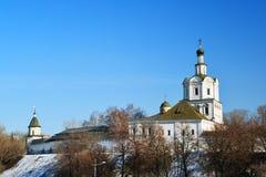 Μοναστήρι spaso-Andronikov στη Μόσχα, Ρωσία Στοκ εικόνα με δικαίωμα ελεύθερης χρήσης