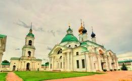 Μοναστήρι spaso-Yakovlevsky ή μοναστήρι του λυτρωτή του ST Jacob στο Ροστόφ, το χρυσό δαχτυλίδι της Ρωσίας Στοκ Εικόνες