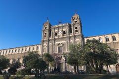Μοναστήρι St Lucia στο Άδρανο, Σικελία στοκ φωτογραφίες