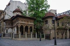 Μοναστήρι Stavropoleos, ST Michael και εκκλησία του Gabriel σε Buchare στοκ φωτογραφίες με δικαίωμα ελεύθερης χρήσης