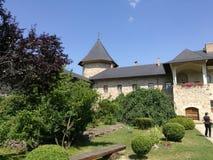 Μοναστήρι Sucevita στοκ φωτογραφίες με δικαίωμα ελεύθερης χρήσης
