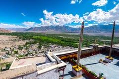 Μοναστήρι Thiksay, το μεγαλύτερο gompa σε κεντρικό Ladakh που βρίσκεται πάνω από έναν λόφο στο χωριό ανατολικά Leh Thiksey στην Ι Στοκ Εικόνες