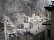 Μοναστήρι trabzon Τουρκία Sumela στοκ εικόνα