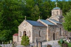 Μοναστήρι Tresije στοκ εικόνες
