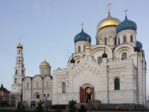 Μοναστήρι Ugreshsky Nikolo το εργοστάσιο 1824 καθεδρικών ναών που ιδρύεται σημαίνει nevyansk τη pyatiprestolny μεταμόρφωση πετρών Στοκ Εικόνες