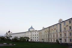 Μοναστήρι Ugreshsky Nikolo Το νέο κτήριο αδελφότητας Ρωσία Στοκ φωτογραφία με δικαίωμα ελεύθερης χρήσης